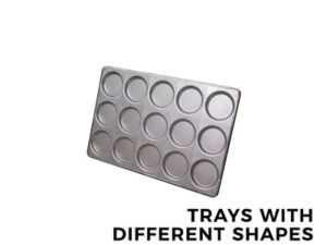 ITALBAKERY TRAYS WITH DIFFERENT SHAPES